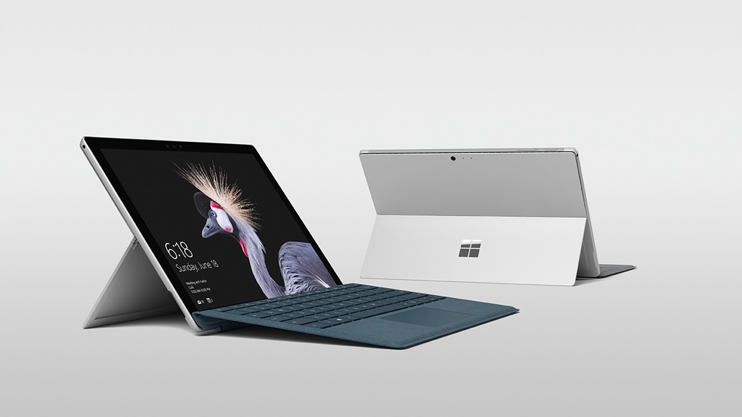 Microsoft Surface Pro, il nuovo 2-in-1 con processori Intel Kaby Lake