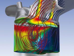 simulazione della combustione