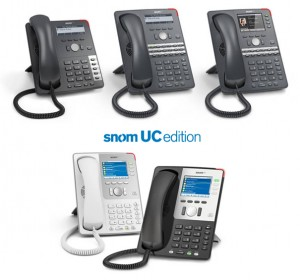 snom UC phones