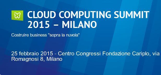 CloudComputingSummit2015