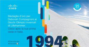 Cisco Italia: 25 anni di trasformazione digitale e impegno sociale