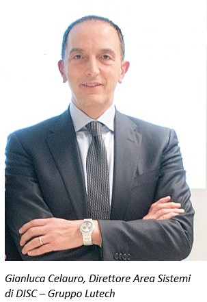 Gianluca Celauro, Direttore Area Sistemi di DISC - Gruppo Lutech
