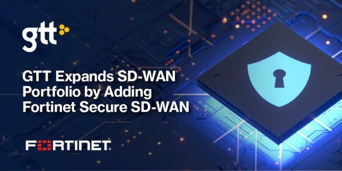 GTT adotta la tecnologia Secure SD-WAN di Fortinet