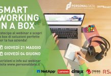 smart working in a box_personal data
