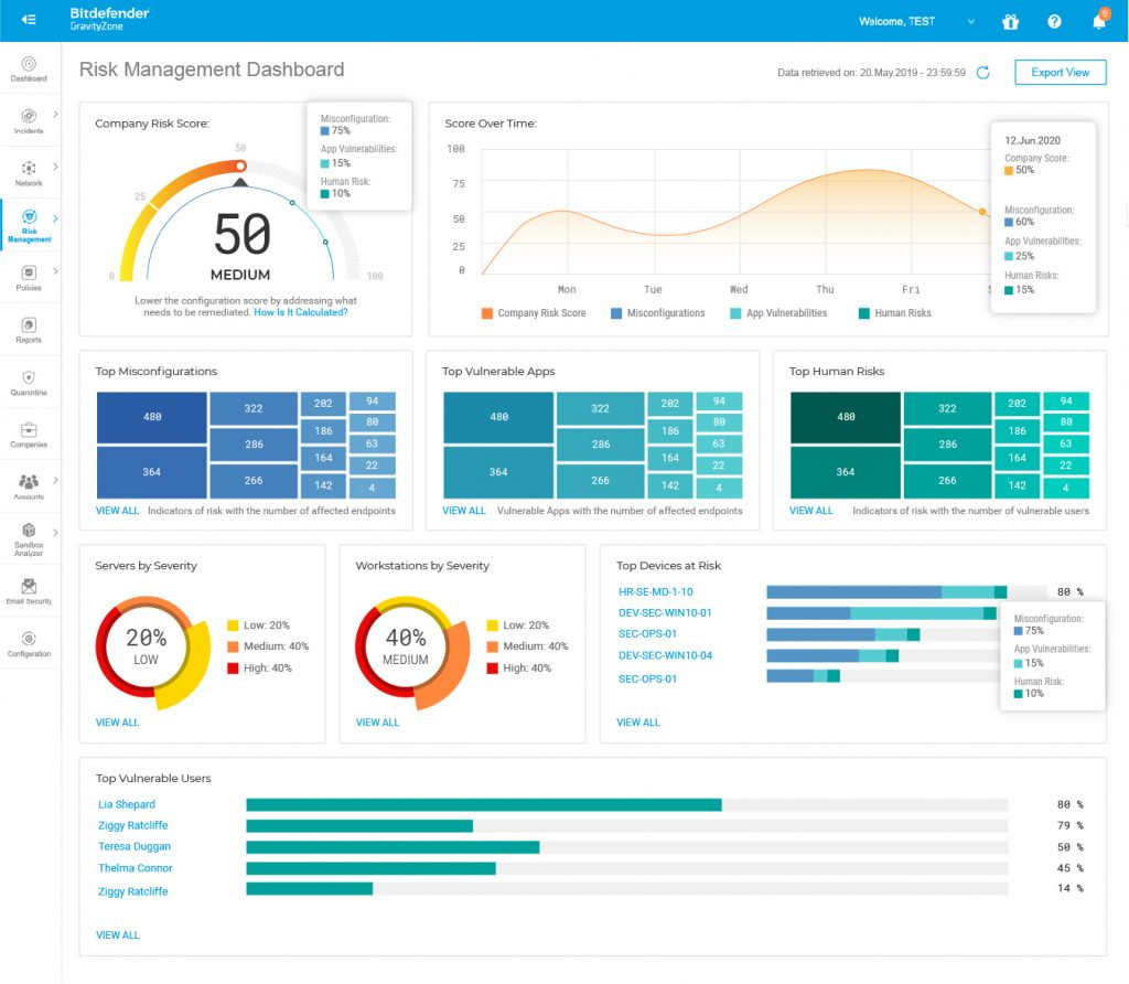 Risk-Management-Dashboard