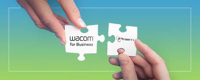 Partnership Praim-Wacom