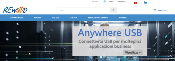 e-commerce di Reweb
