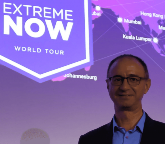 Vincenzo Lalli, Country Manager Extreme Networks